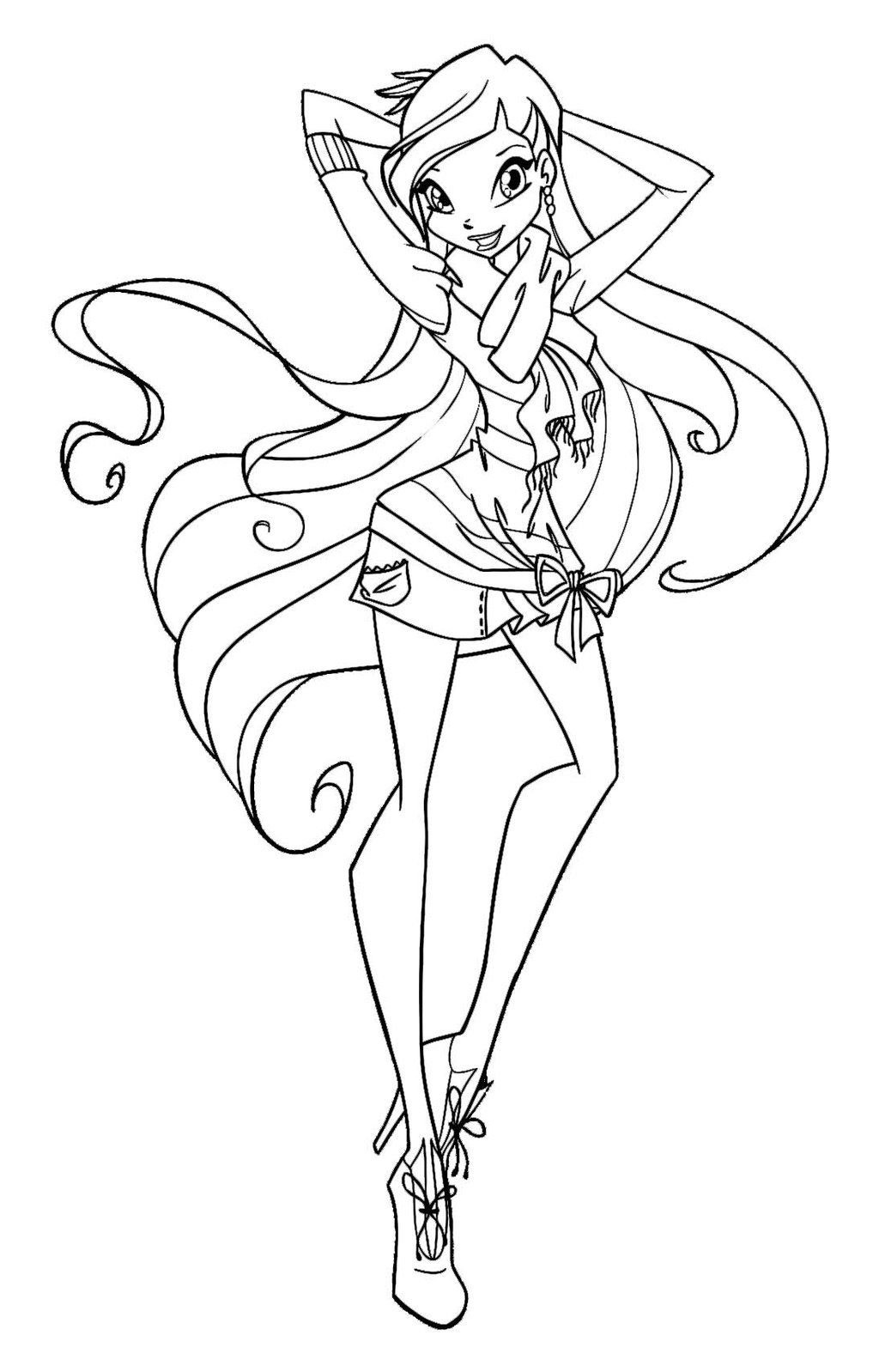 coloring pages WINX - Google Search | Andy | Pinterest | Google search