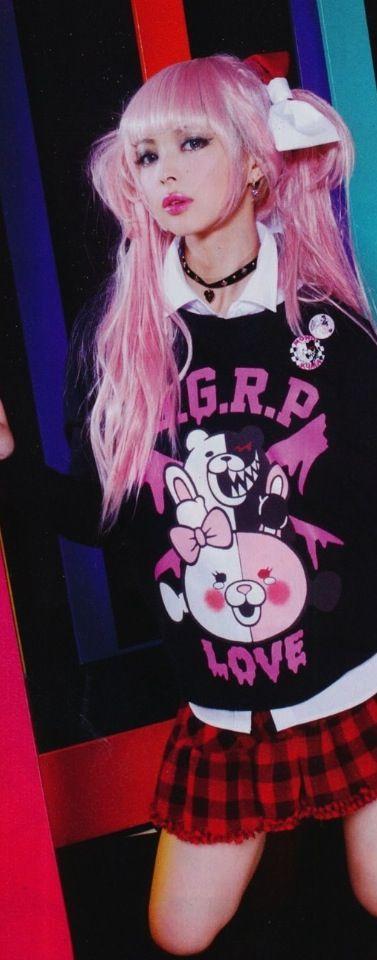 Japanese Fashion. So cute!