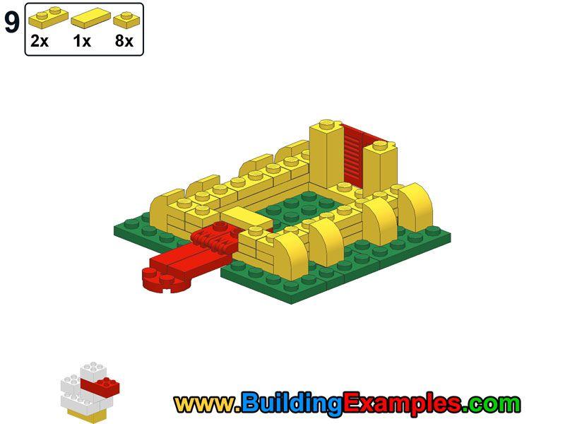 Lego castle mini-9