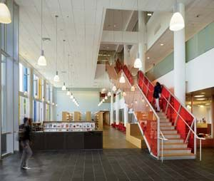 Jeremiah E Burke High School Boston Massachusetts Schwartz Silver Architects