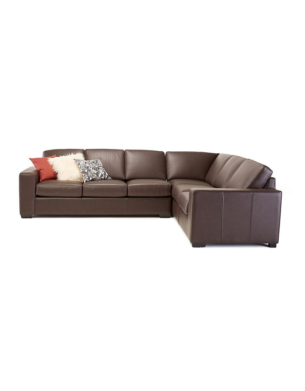 Terrific Brands Sofas Brockton 172 Wide Arm Leather Sectional Andrewgaddart Wooden Chair Designs For Living Room Andrewgaddartcom