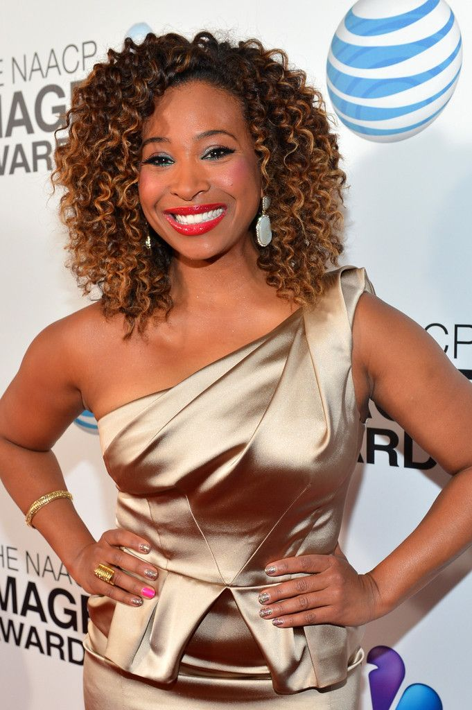 Tanika Ray Wand Curls At Naacp 44th Image Awards Inspiring