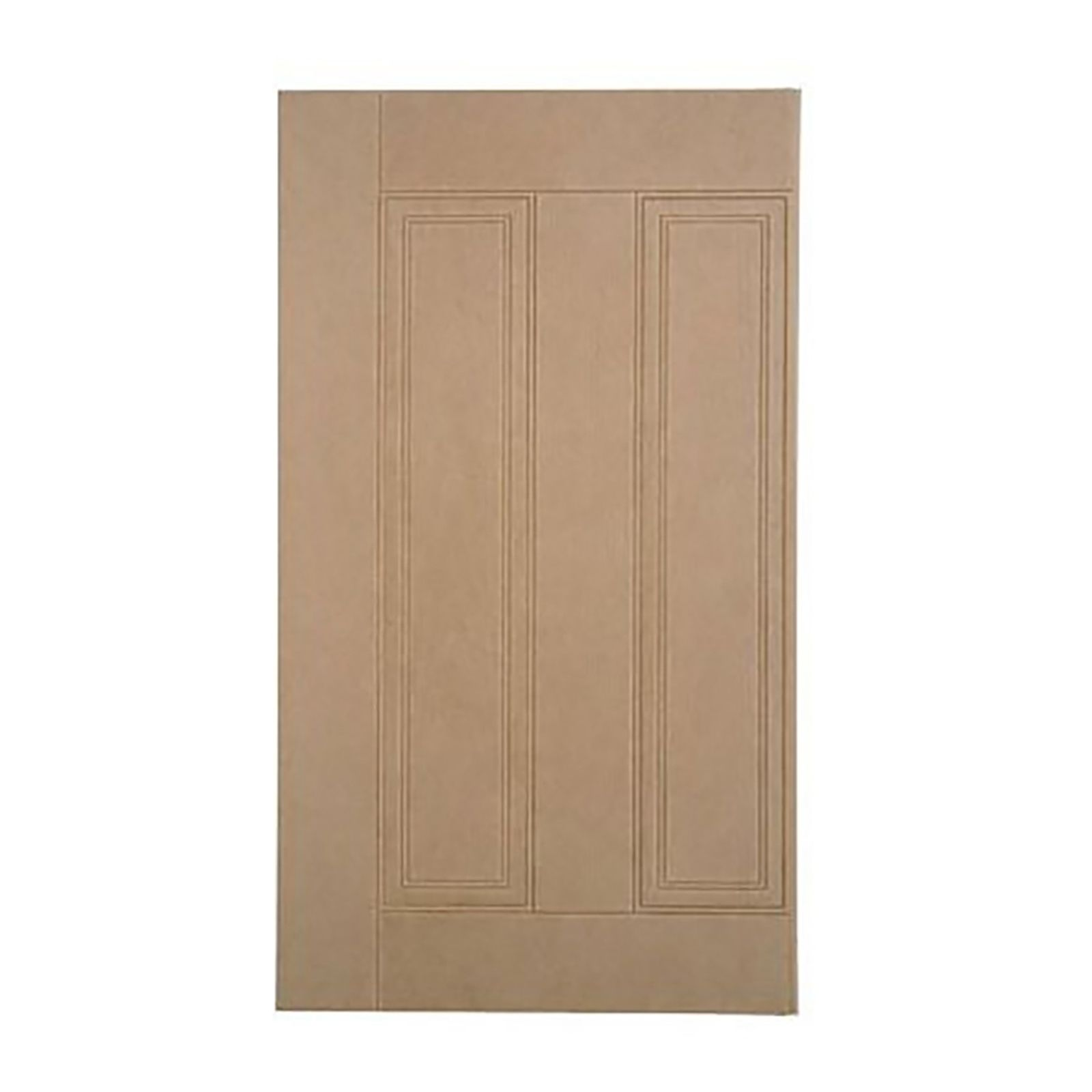Easipanel Raised And Fielded Mdf Standard Wall Panel 915 X 516mm Bathroom Wall Panels