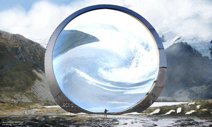 The mountain portal