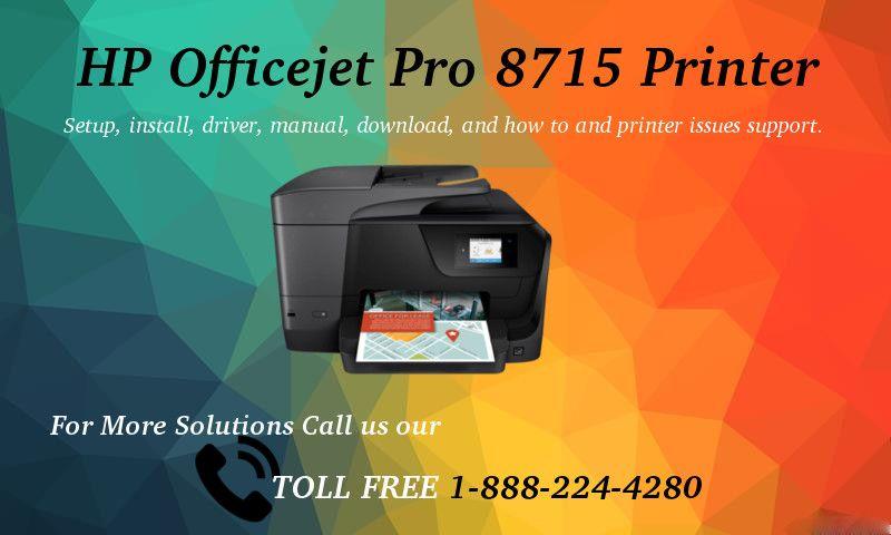 123 Hp Com Ojpro8715 Setup 123 Hp Officejet Pro 8715 Printer Hp Officejet Pro Hp Officejet Printer