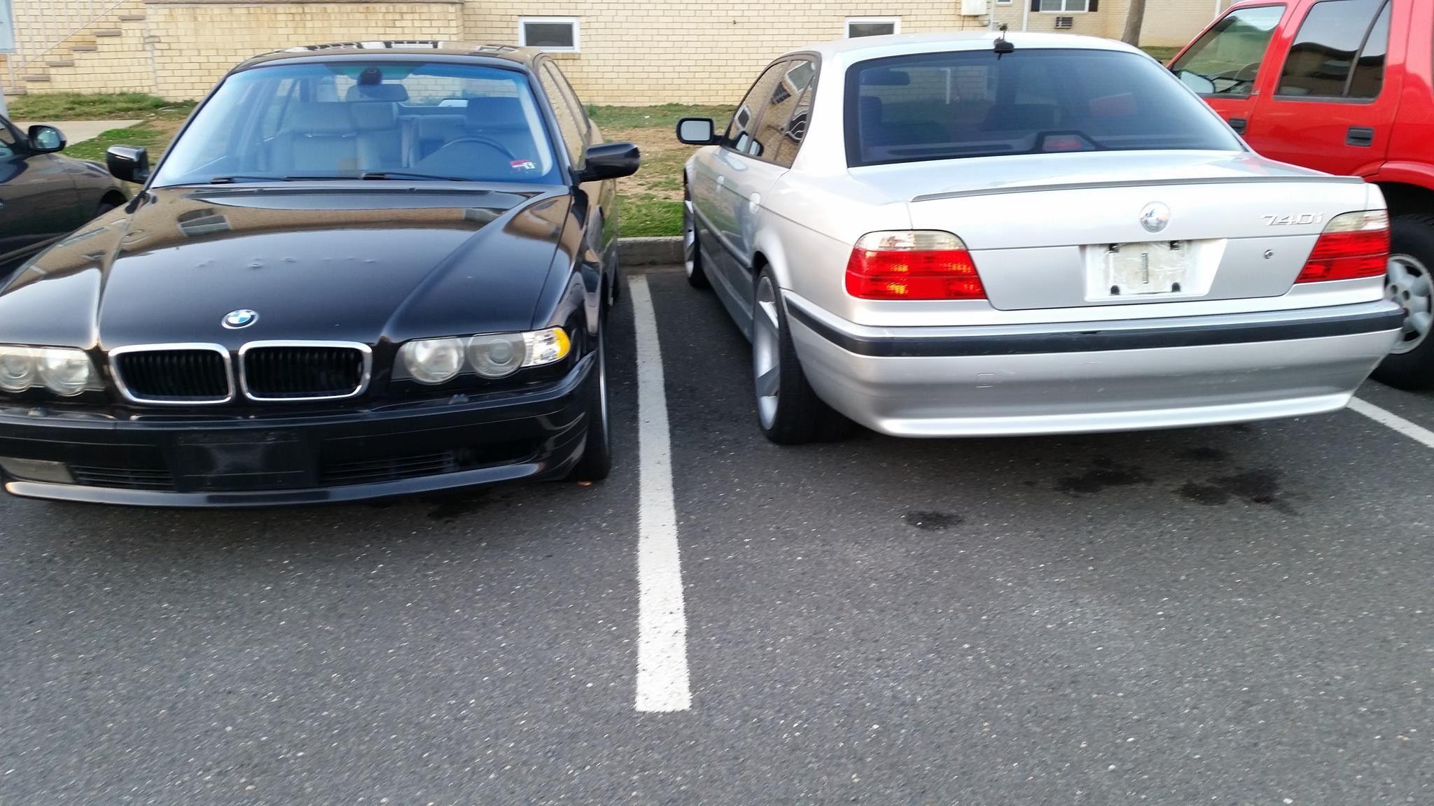 Bmw E38 Black And Silver Bmw E38 Bmw Bmw E38 Bmw 740