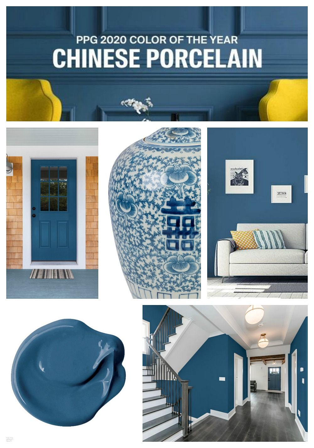 Ppg 2020 Color Of The Year Chinese Porcelain Paint Colors