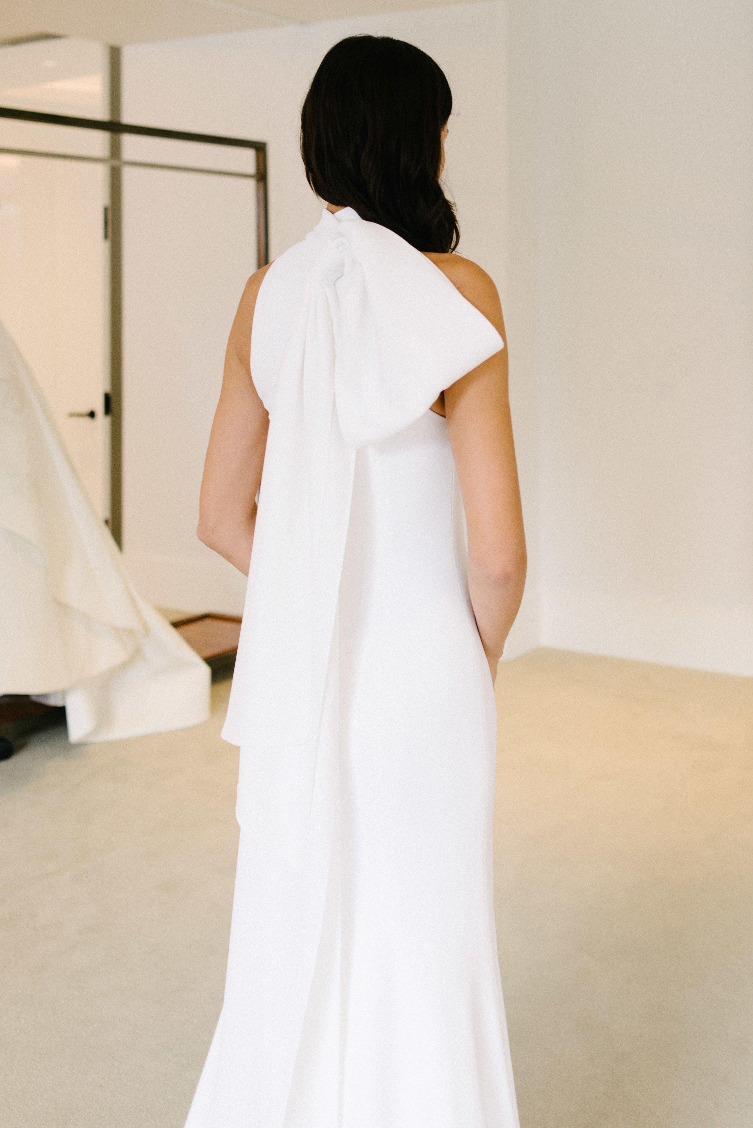 2f915fc7f80d4 Iris - Carolina Herrera, Carolina Herrera Collection 2019 at NY Bridal  Market. Little White