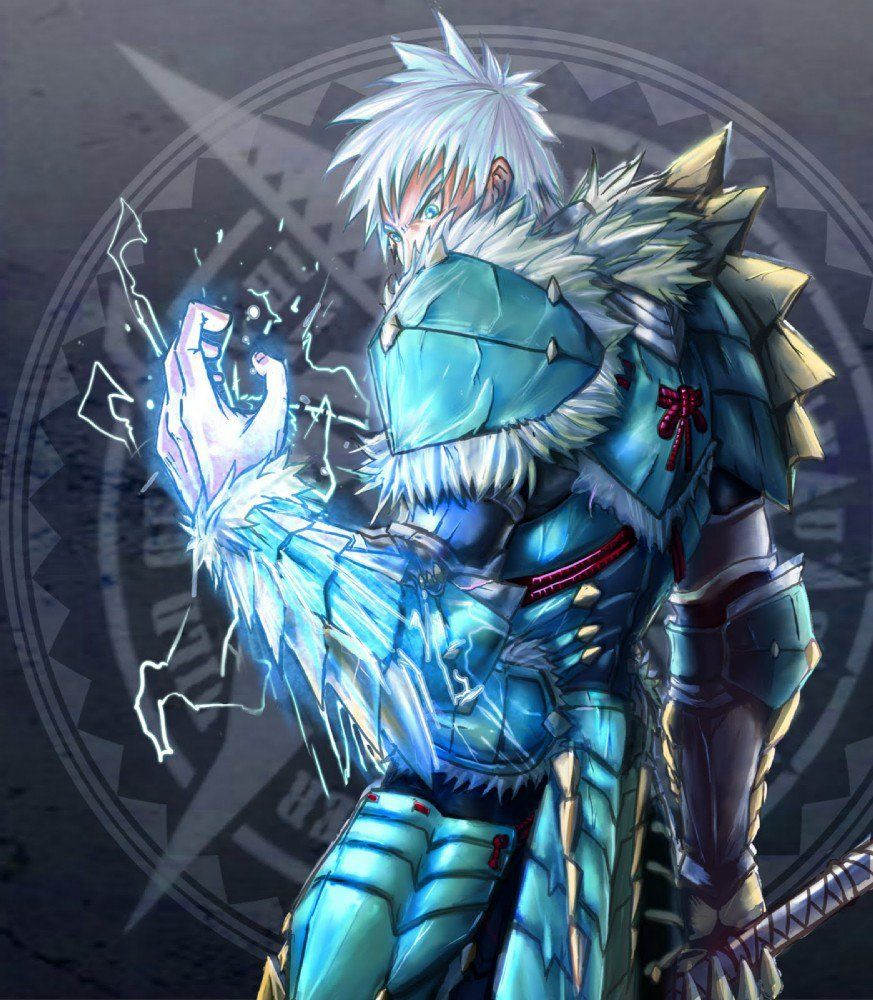 Thunder wolf armor! Monster hunter art, Monster hunter