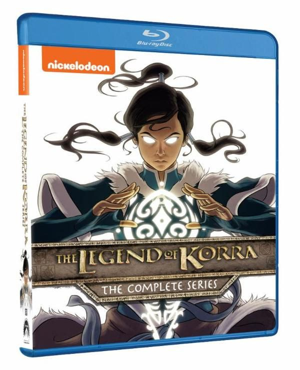 The Legend Of Korra Compete Series Set Announced The Legend Of