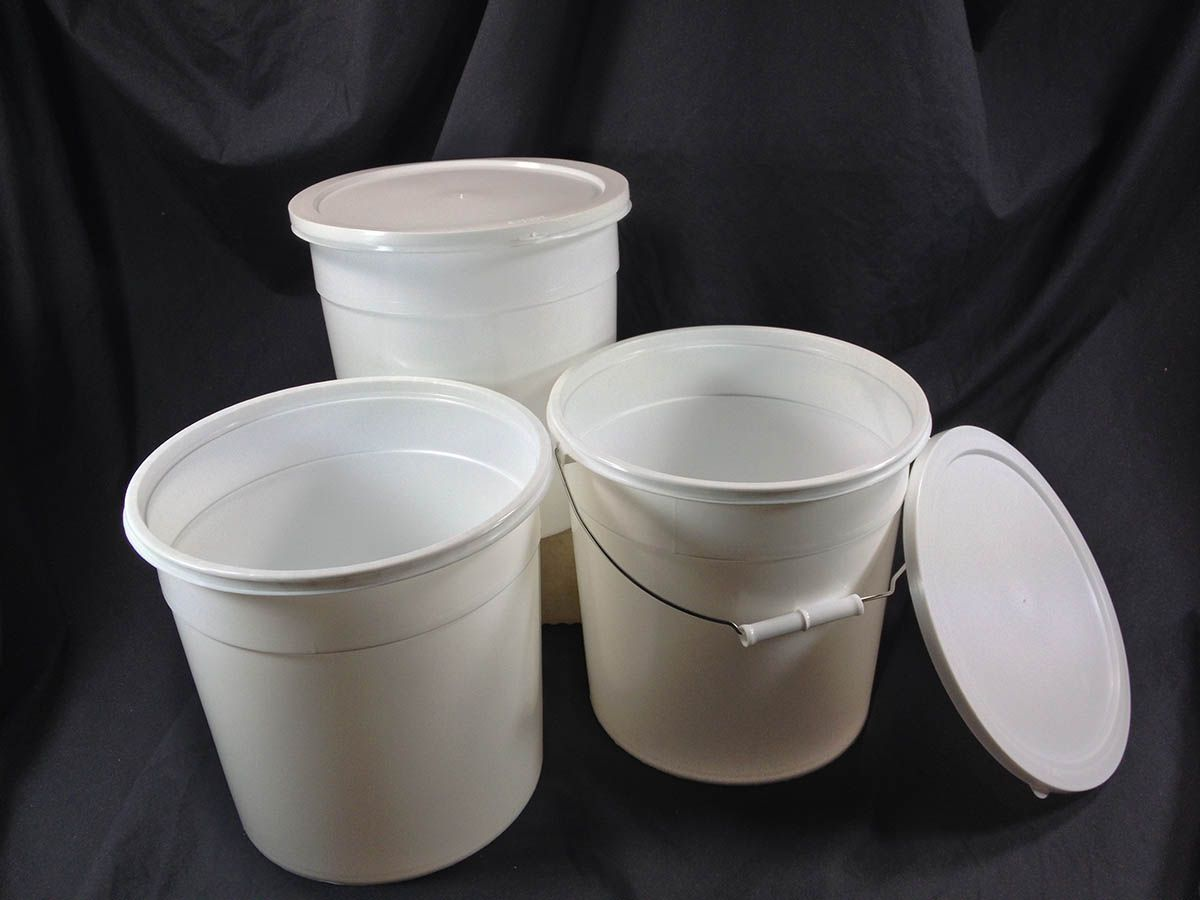 Light Duty Or Easy Open Plastic Pails Plastic Pail Pail Plastic Buckets
