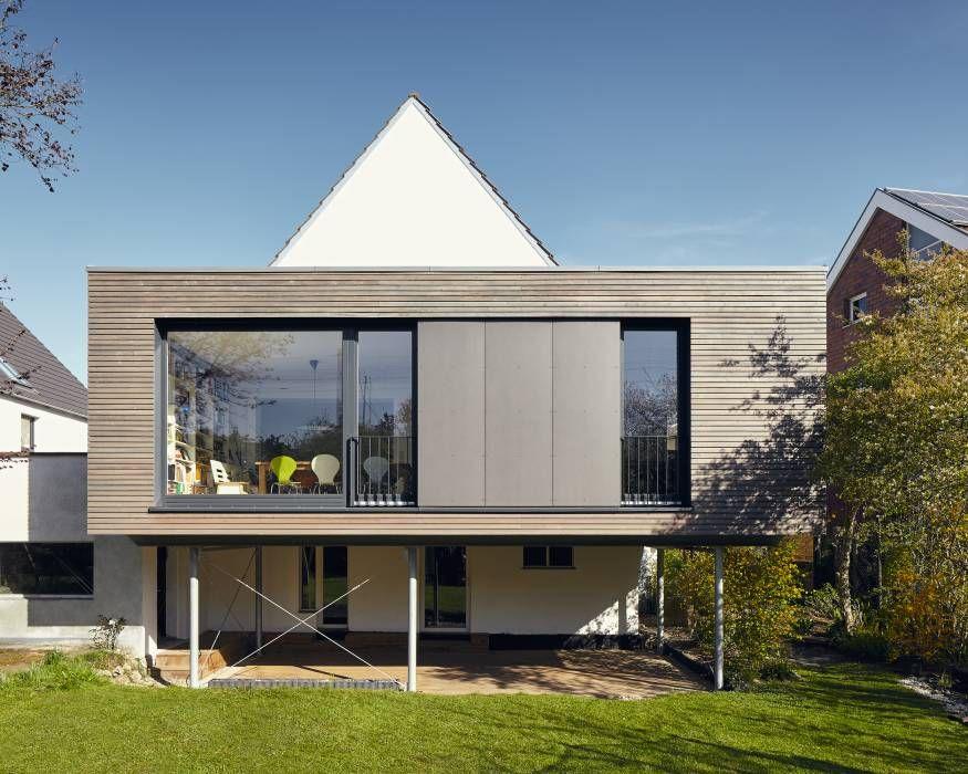 Anbau an ein einfamilienhaus in ratingen modern häuser von philip kistner fotografie modern  – Architecture // Annex
