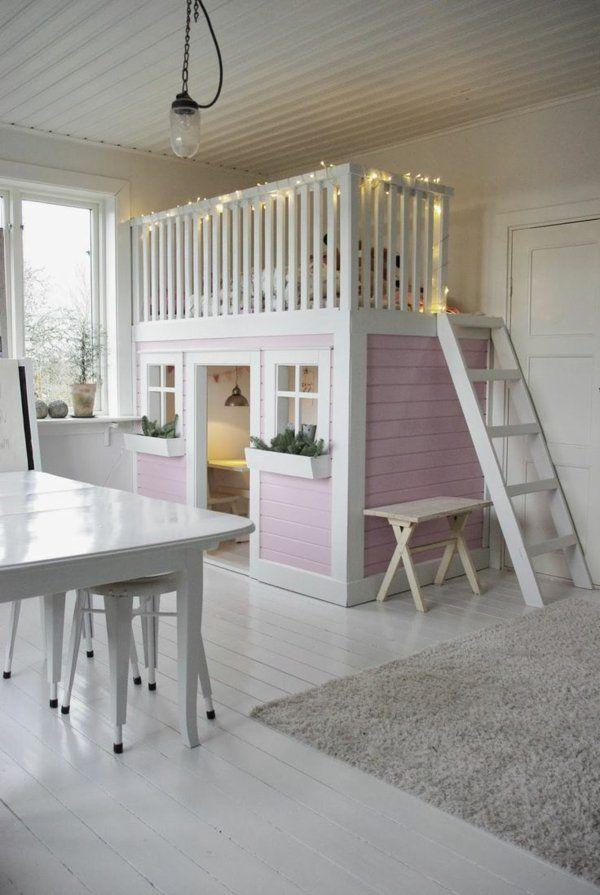 le plus beau lit cabane pour votre enfant chambre iris chambre enfant lit cabane et beaux. Black Bedroom Furniture Sets. Home Design Ideas