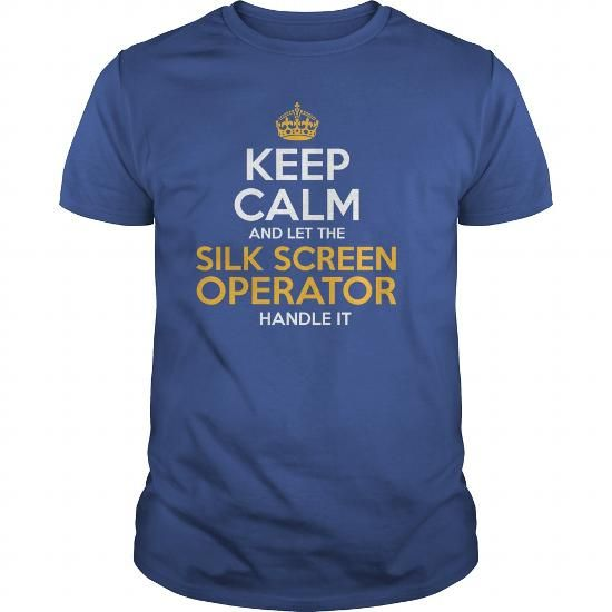 Awesome Tee For Silk Screen Operator T Shirts, Hoodies. Check price ==► https://www.sunfrog.com/LifeStyle/Awesome-Tee-For-Silk-Screen-Operator-130200891-Royal-Blue-Guys.html?41382