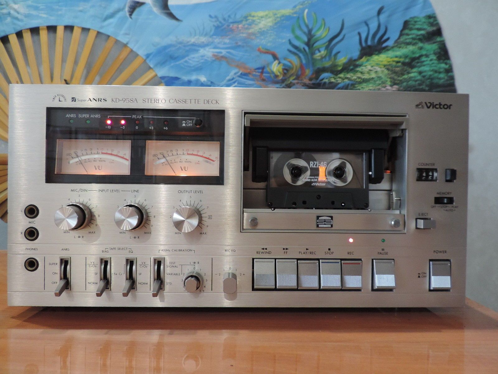 hight resolution of victor kd 95sa cassette tape deck ebay