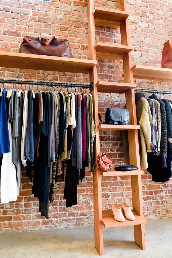 Heist Welcome Clothes Rack Design Boutique Interior Boutique