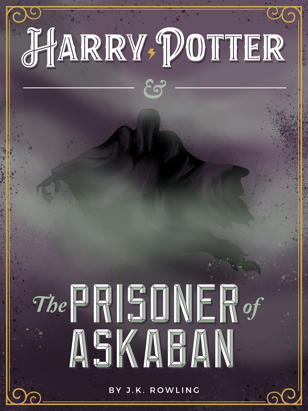 Harry potter posters on behance