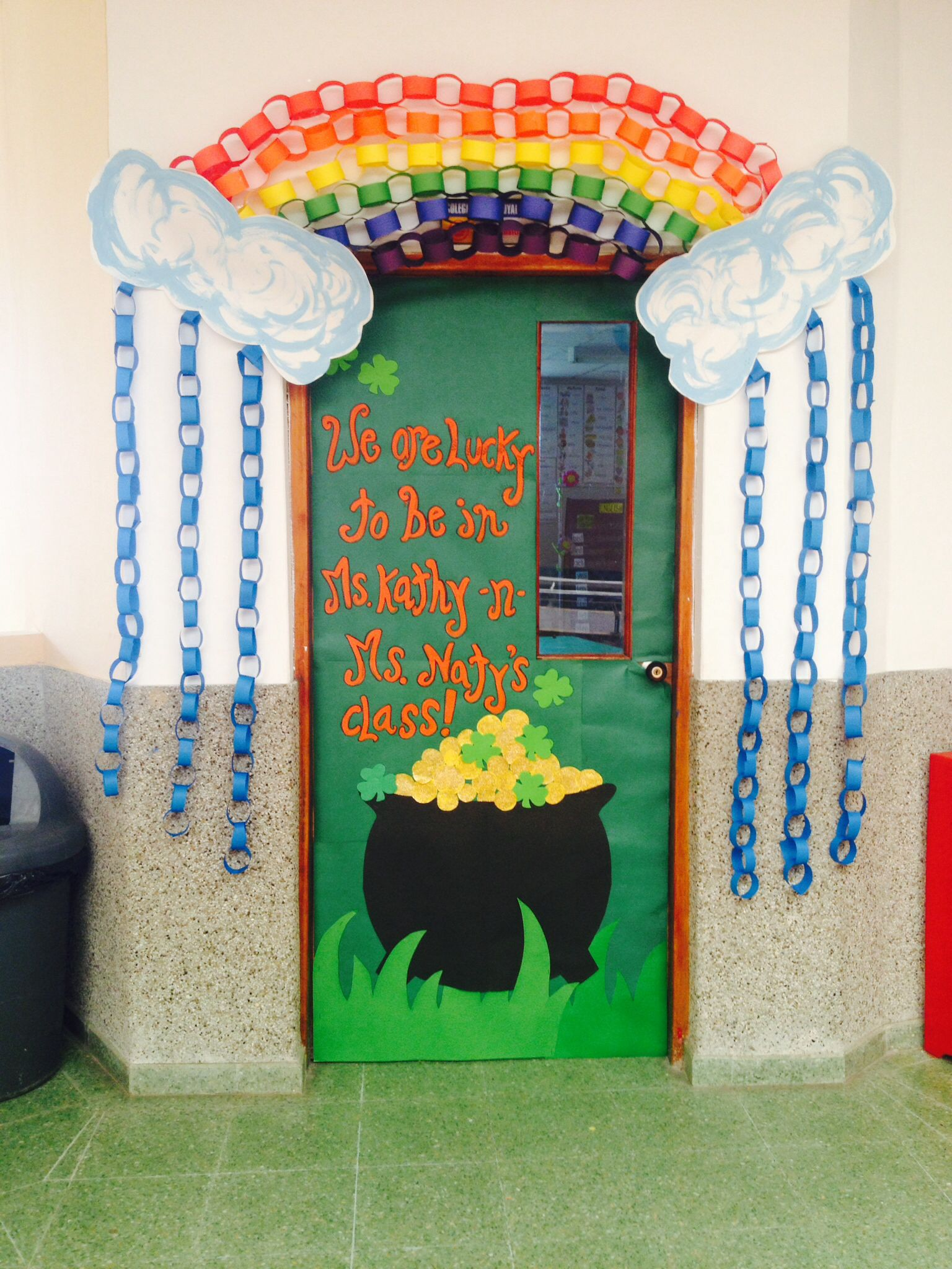 St Patricks Door School Door Decoration School Door