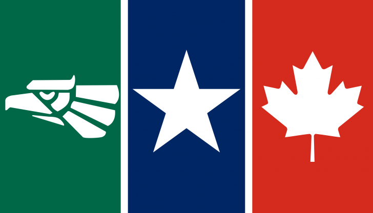 Flag For Nafta North American Free Trade Agreement Vexillology