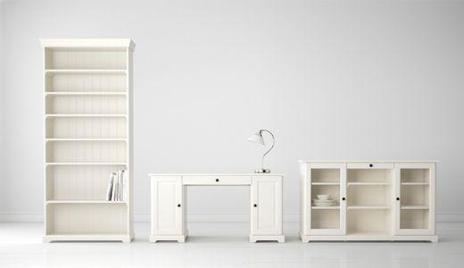 LIATORP Serie, hier u. a. mit LIATORP Sideboard in Weiß | Lakás ...