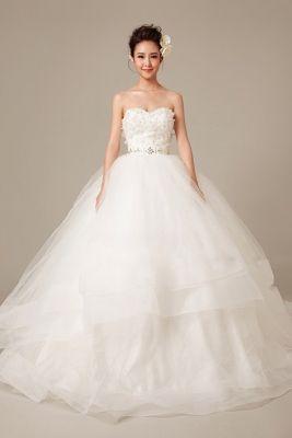 Popular  Ultra Romantic Tulle Wedding Dresses
