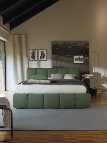 Come arredare la camera da letto nelle tonalità del verde e del ...