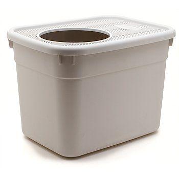 Clevercat Top Entry Litterbox 20 L X 15W X 15D 9 diameter