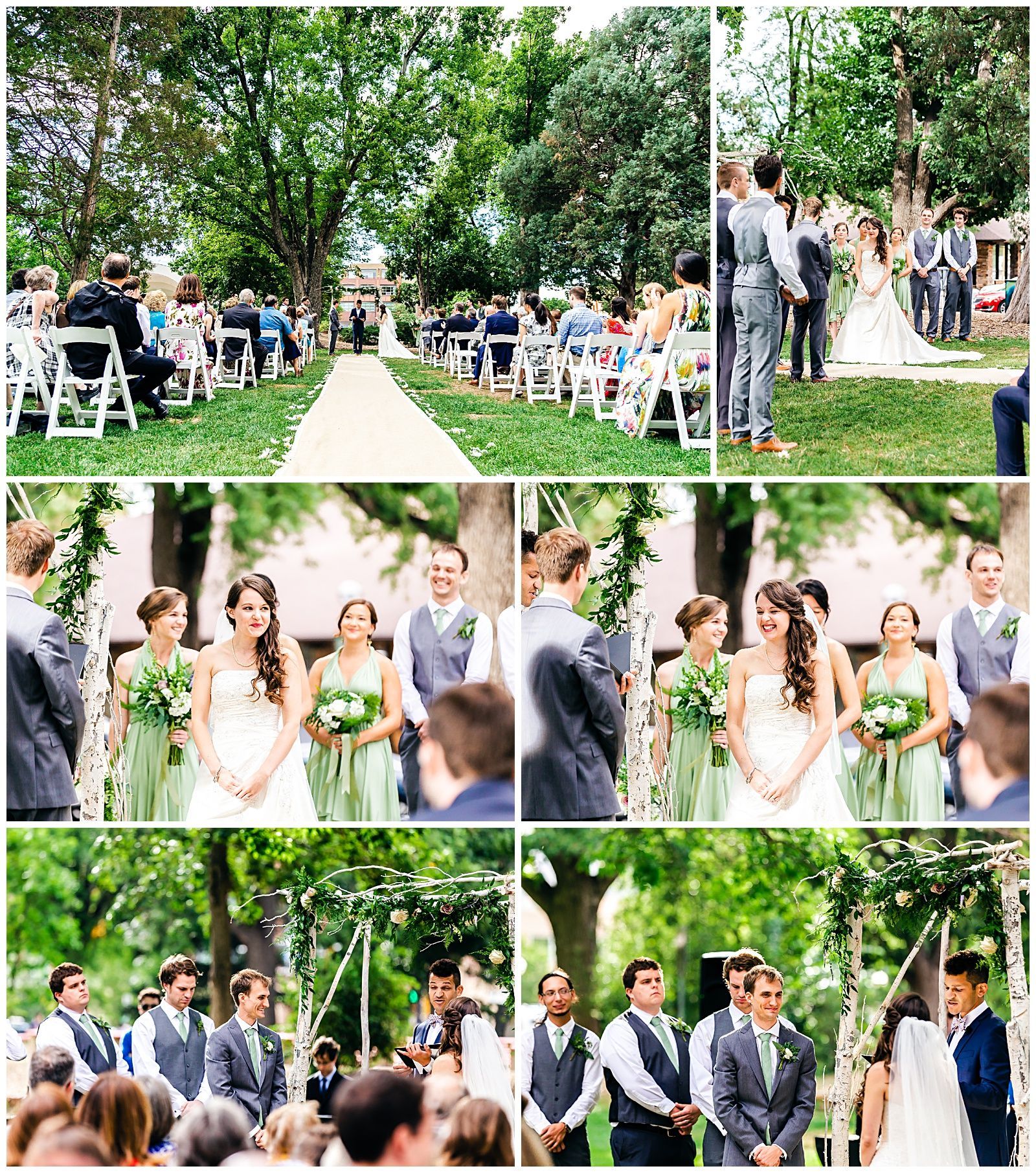 Boulder, CO Wedding With An Outdoor Ceremony And Reception