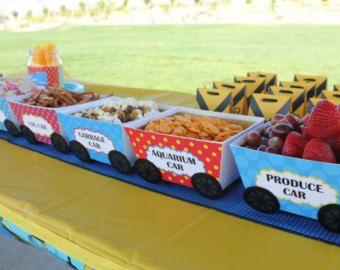 Birthday Party Ideas Train Food