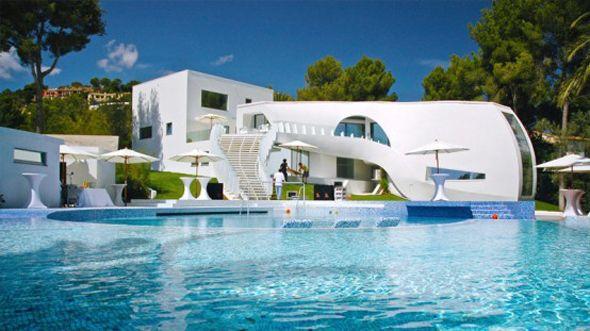 Dream House With Pool awesome house design : flintstones home decor decors. idea ideas