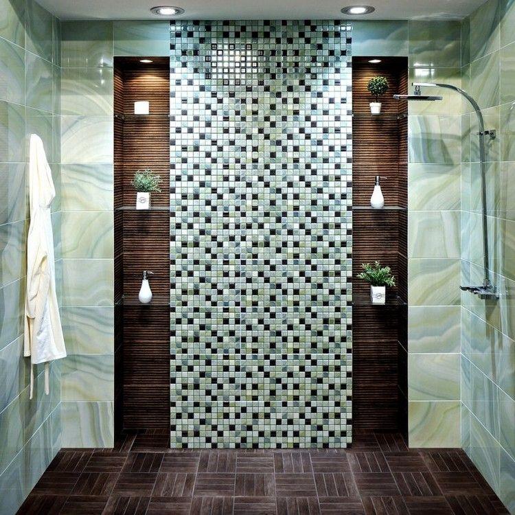 Aménagement petite salle de bain en 20 idées gain de place | New ...