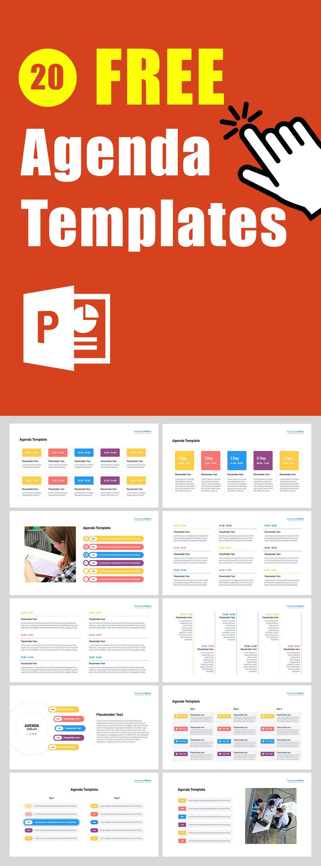Free Agenda PowerPoint Templates in 2020   Powerpoint ...