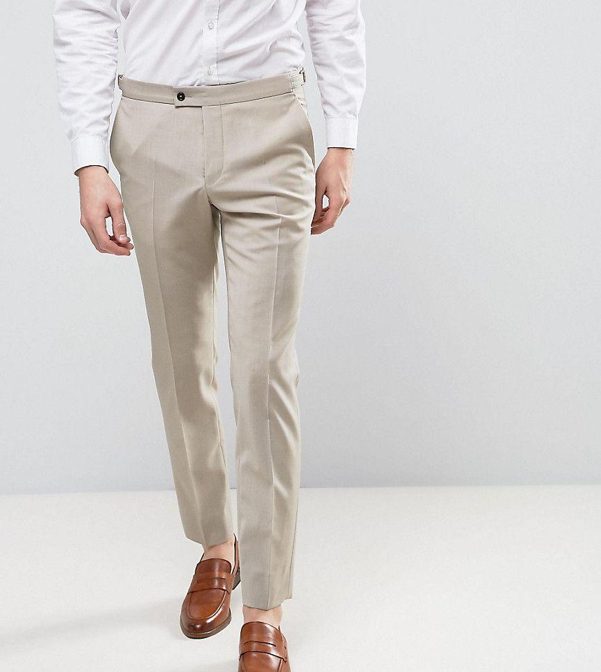 Hart Hollywood Skinny Wedding Suit Pants Beige Skinny Dress Pants Men Slim Fit Pants Men Slim Fit Suit Men [ 972 x 870 Pixel ]