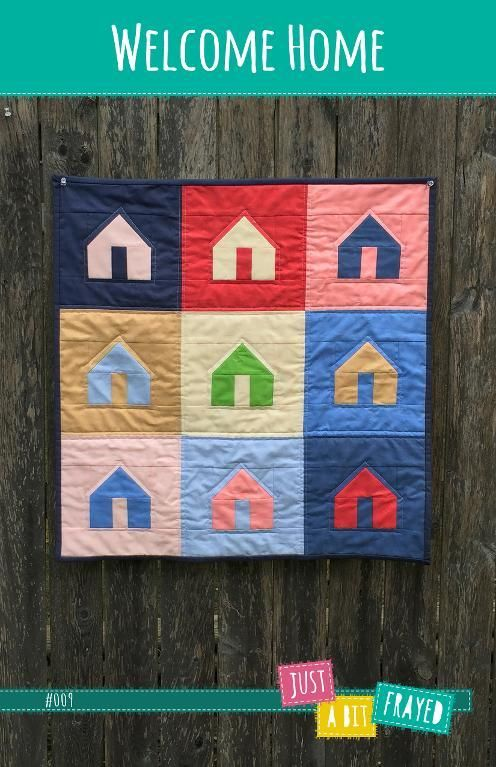 (7) Name: 'Quilting : Welcome Home Mini Quilt Pattern