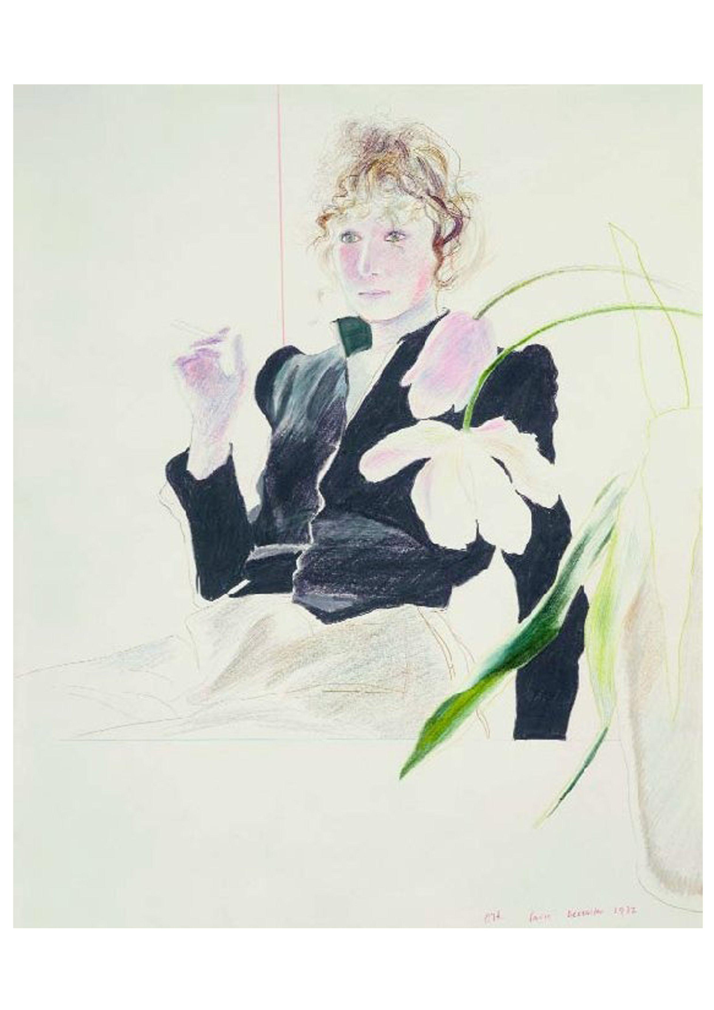 3618b5ae2d Celia Birtwell by David Hockney