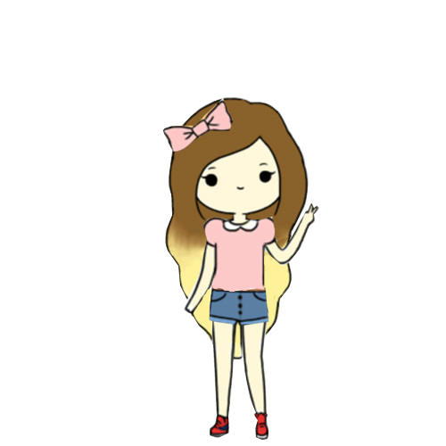 Tumblr Transparents Hipster Google Search Cute Drawings Kawaii Drawings Kawaii Girl Drawings