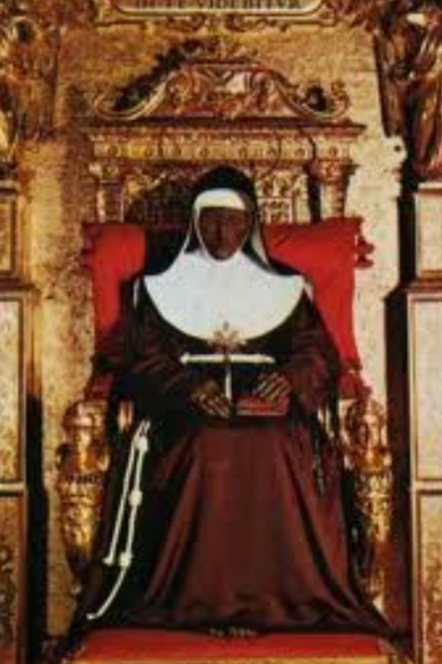 St Catherine Of Bologna Martyrs Saints And Sinners Pinterest