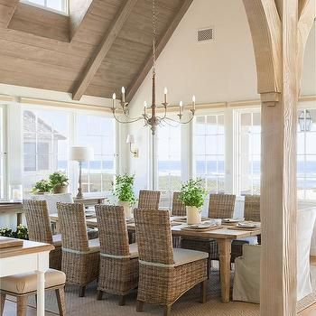 Cottage Dining Room Seats 10