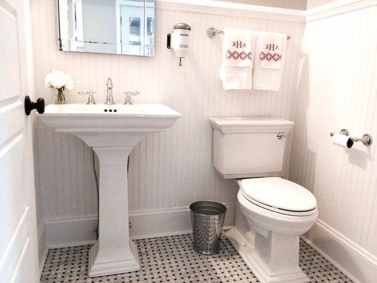 40 Most Popular Powder Room Design Ideas For 2019 Browse Powder Room Designs And Decorating Ideas Discover Powder Room Vanity Powder Room Rustic Powder Room