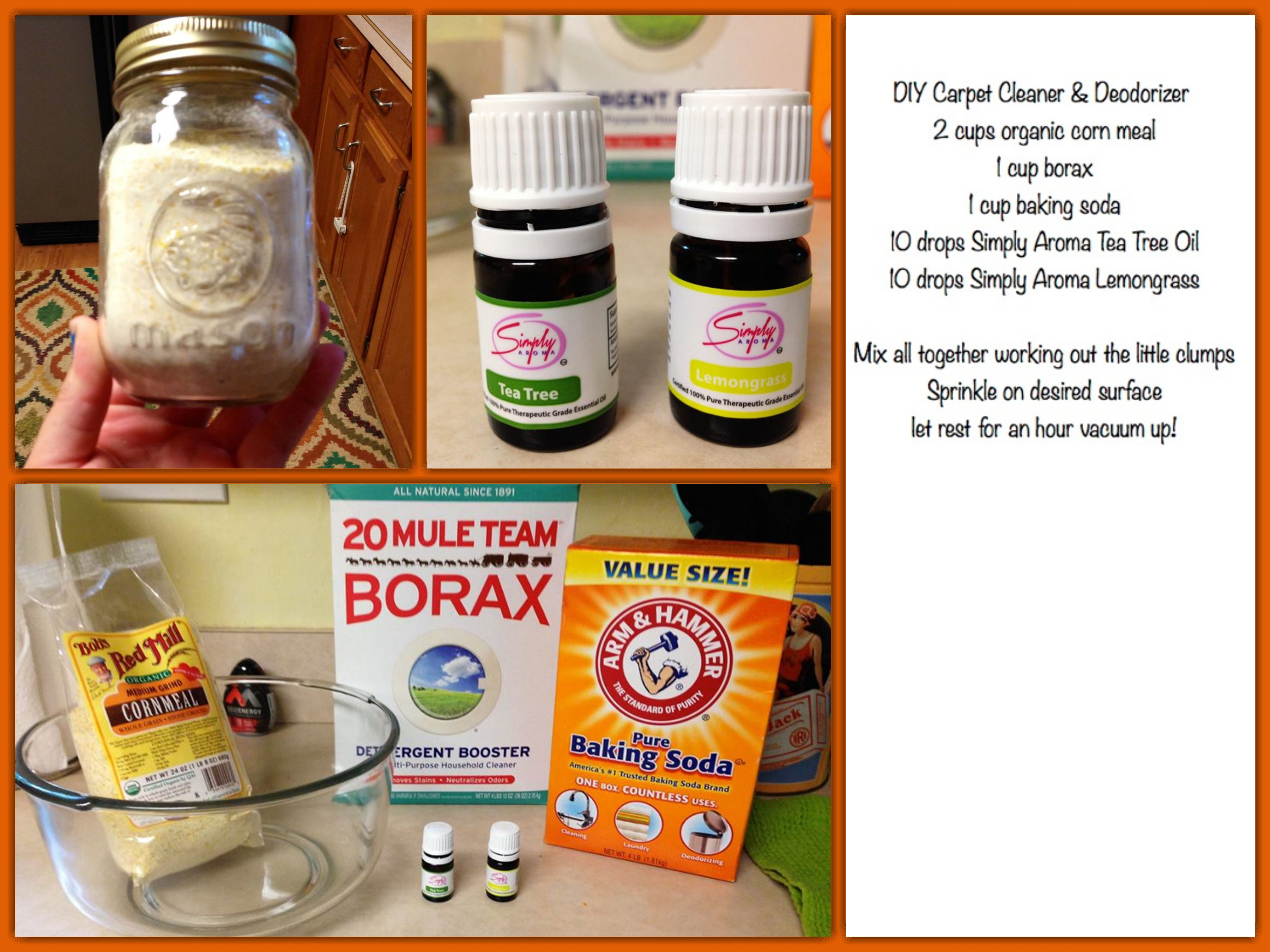 Diy Carpet Cleaner Refresher Safe Natural Borax Will Kill