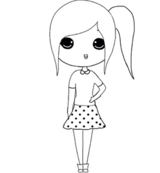 Chibi Template Instagram Images & Pictures - Becuo | Cute Drawings
