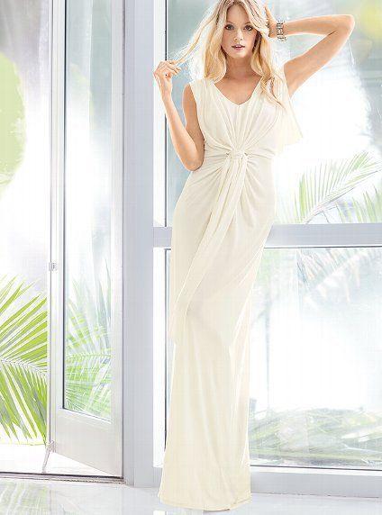 Victoria\'s Secret Goddess Maxi Dress $102.40   Fashion Items I love ...
