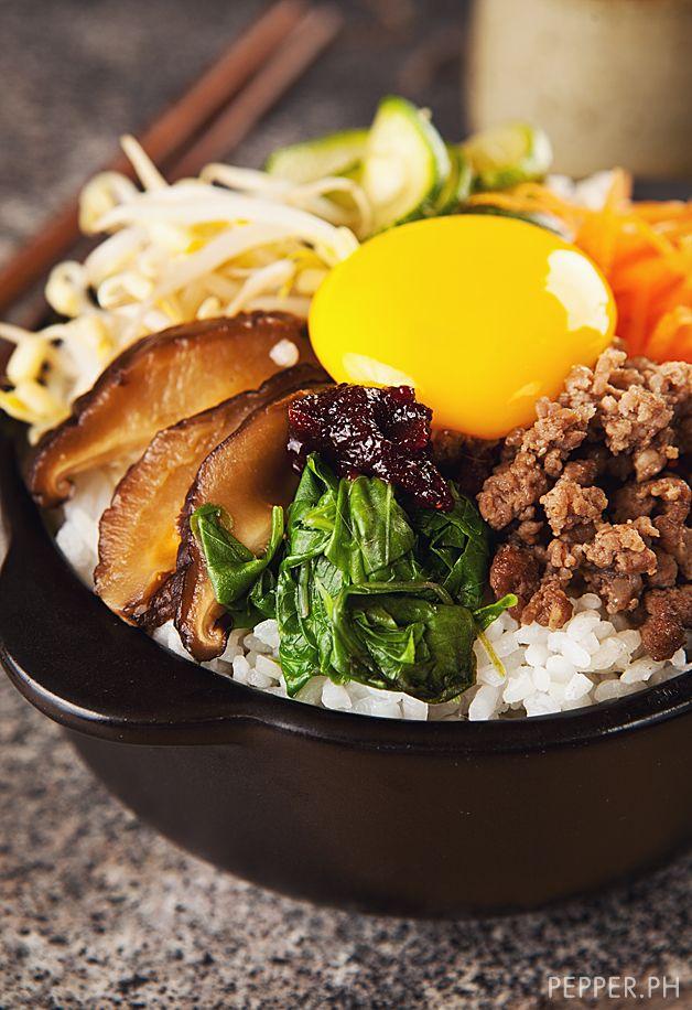 The Famous Korean Fried Rice That Isn T Fried Beautiful Egg Yolk