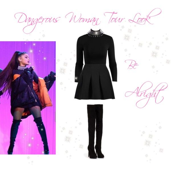 Ariana Grande Be Alright Outfit