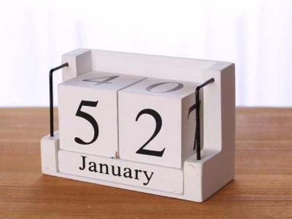 Vintage Wood Calendar Home Decor Craft Products Pinterest