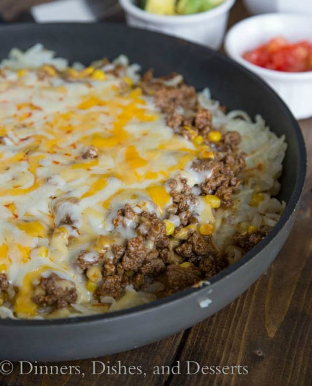 Photo of Hashbrown Enchilada Skillet Recipe – RecipeChart.com