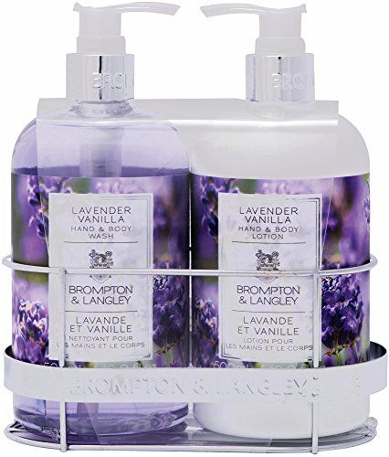 Upper Canada Soap Brompton And Langley Handbody Wash Lotion Caddy