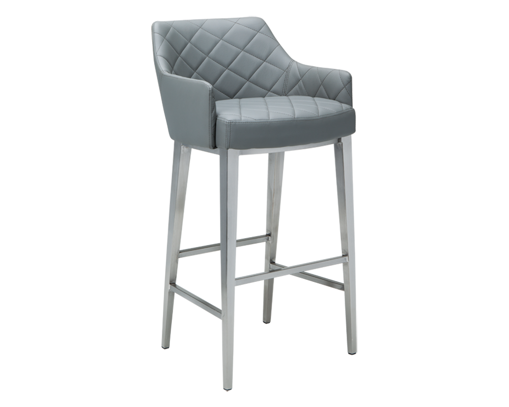 Chase Barstool Grey Bar Stools Leather Counter Stools Leather Bar Stools