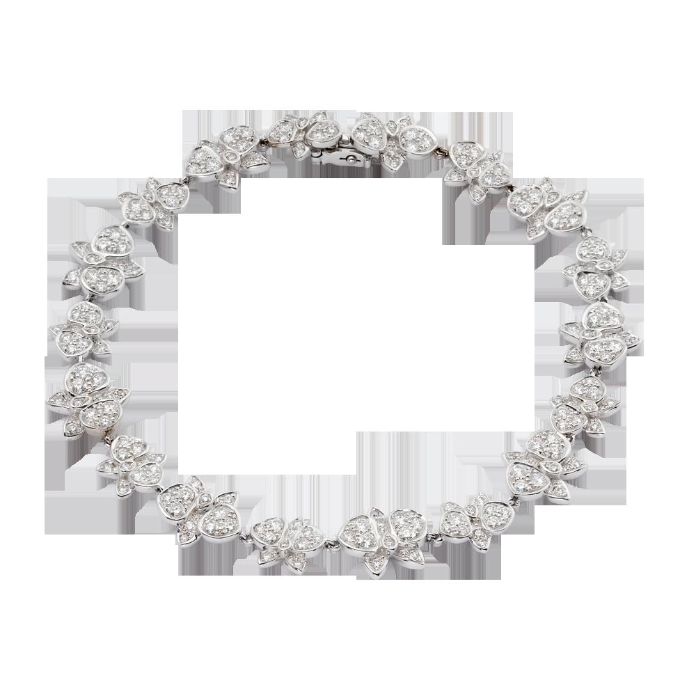 37c7585f538d Caresse D Orchidées par Cartier bracelet. White gold