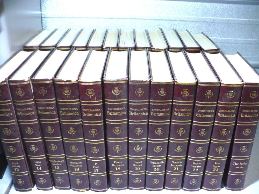 1963 Encyclopedia Britannica Complete